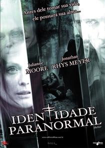 Identidade Paranormal - Poster / Capa / Cartaz - Oficial 1