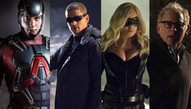 Série spinoff de Flash e Arrow estrelada por outros heróis da DC em desenvolvimento