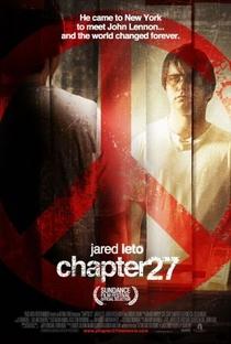 Capítulo 27 - O Assassinato de John Lennon - Poster / Capa / Cartaz - Oficial 1