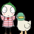 Sarah e o Pato (Sarah and Duck)