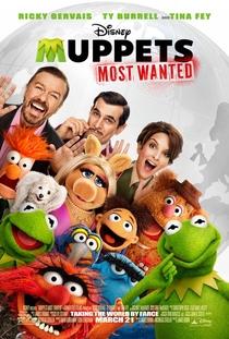 Muppets 2: Procurados e Amados - Poster / Capa / Cartaz - Oficial 2