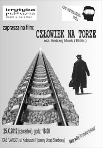 O homem no trilho - Poster / Capa / Cartaz - Oficial 2