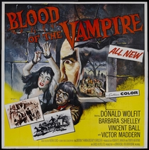 Blood of the Vampire - Poster / Capa / Cartaz - Oficial 3