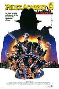 Loucademia de Polícia 6 - Cidade em Estado de Sítio - Poster / Capa / Cartaz - Oficial 3