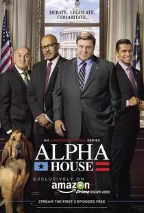 Alpha House (1ª Temporada) - Poster / Capa / Cartaz - Oficial 1