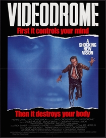 Videodrome - A Síndrome do Vídeo - Poster / Capa / Cartaz - Oficial 7