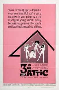 Three in the Attic - Poster / Capa / Cartaz - Oficial 1