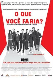 O Que Você Faria? - Poster / Capa / Cartaz - Oficial 3