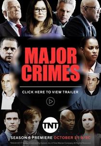 Crimes Graves (6ª Temporada) - Poster / Capa / Cartaz - Oficial 1
