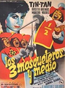 Los Tres Mosqueteros y Medio - Poster / Capa / Cartaz - Oficial 1
