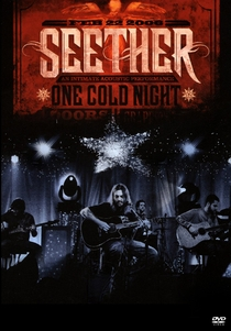 Seether - One Cold Night - Unplugged - Poster / Capa / Cartaz - Oficial 1