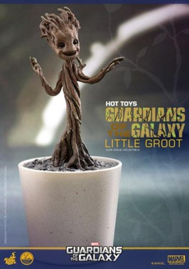 """Guardiões da Galáxia: Hot Toys lançará action figure do """"Grootinho dançarino"""""""