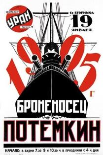 O Encouraçado Potemkin - Poster / Capa / Cartaz - Oficial 1