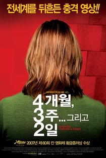 4 Meses, 3 Semanas e 2 Dias - Poster / Capa / Cartaz - Oficial 18