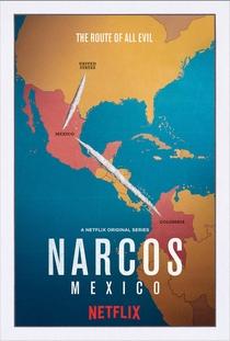 Narcos: México (1ª Temporada) - Poster / Capa / Cartaz - Oficial 2