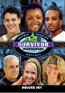 Survivor: Marquesas (4ª Temporada) - Poster / Capa / Cartaz - Oficial 1