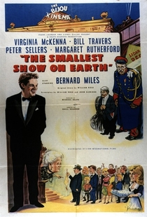 The Smallest Show on Earth - Poster / Capa / Cartaz - Oficial 2