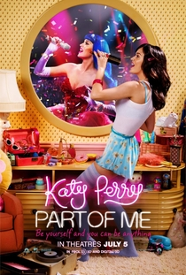 Katy Perry - Part of Me - Poster / Capa / Cartaz - Oficial 1