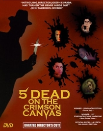Five Dead on the Crimson Canvas - Poster / Capa / Cartaz - Oficial 1