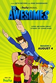 The Awesomes - Poster / Capa / Cartaz - Oficial 1