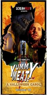 "Scary Endings: ""Yummy Meat: A Halloween Carol""  - Poster / Capa / Cartaz - Oficial 1"
