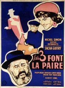 Les trois font la paire - Poster / Capa / Cartaz - Oficial 2