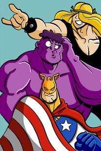 Os Amigos da Justiça - Poster / Capa / Cartaz - Oficial 1