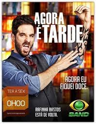 Agora é Tarde (Temporada 2014) - Poster / Capa / Cartaz - Oficial 1