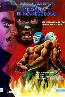 Santo e Blue Demon Contra Drácula e o Homem-Lobo - Poster / Capa / Cartaz - Oficial 1