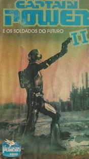Captain Power e os Soldados do Futuro II - Poster / Capa / Cartaz - Oficial 1