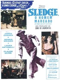 Sledge, O Homem Marcado - Poster / Capa / Cartaz - Oficial 2