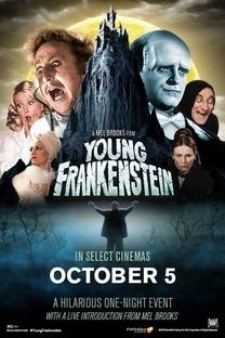 O Jovem Frankenstein - Poster / Capa / Cartaz - Oficial 3