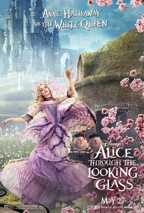 Alice Através do Espelho - Poster / Capa / Cartaz - Oficial 24