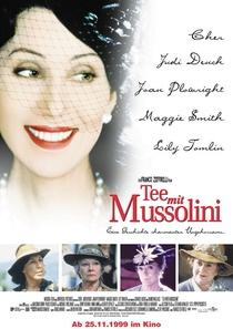 Chá com Mussolini - Poster / Capa / Cartaz - Oficial 3