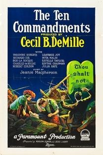 Os Dez Mandamentos - Poster / Capa / Cartaz - Oficial 2