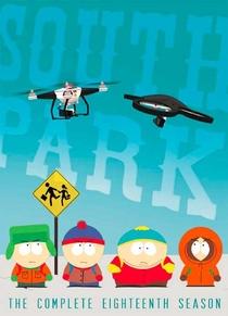 South Park (18ª Temporada) - Poster / Capa / Cartaz - Oficial 1