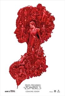 Orgulho e Preconceito e Zumbis - Poster / Capa / Cartaz - Oficial 4