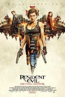 Resident Evil 6 - O Capítulo Final - Poster / Capa / Cartaz - Oficial 1