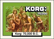 Korg 70.000 a.C. - Poster / Capa / Cartaz - Oficial 1