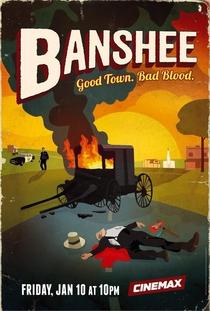 Banshee (2ª Temporada) - Poster / Capa / Cartaz - Oficial 1