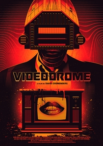 Videodrome - A Síndrome do Vídeo - Poster / Capa / Cartaz - Oficial 2