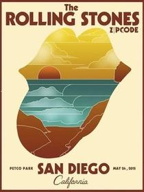 Rolling Stones - San Diego 2015 - Poster / Capa / Cartaz - Oficial 1