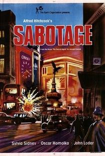 Sabotagem - Poster / Capa / Cartaz - Oficial 2