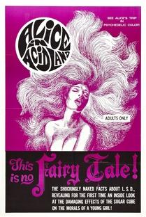 Alice na Terra dos Acidos - Poster / Capa / Cartaz - Oficial 1