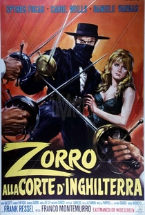 Zorro na Corte da Inglaterra - Poster / Capa / Cartaz - Oficial 2