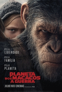 Planeta dos Macacos: A Guerra - Poster / Capa / Cartaz - Oficial 1