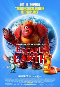 A Fuga do Planeta Terra - Poster / Capa / Cartaz - Oficial 9
