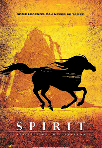 Spirit - O Corcel Indomável - Poster / Capa / Cartaz - Oficial 2