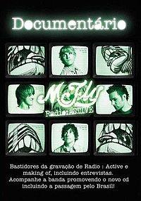 McFly - Radio:ACTIVE Documentário - Poster / Capa / Cartaz - Oficial 1