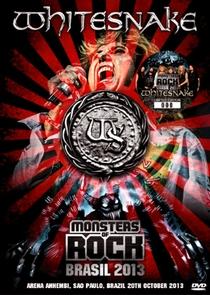 Whitesnake Live in Monsters Of Rock 2013 - Brasil - Poster / Capa / Cartaz - Oficial 1